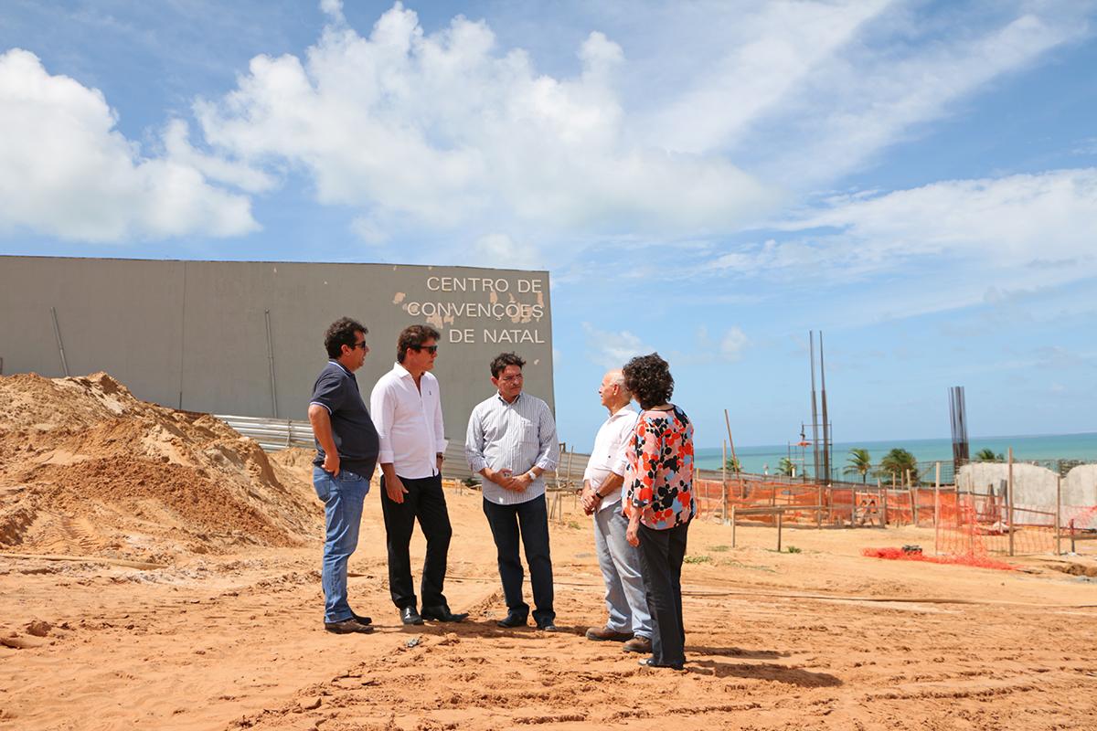 12.04 Visita a obras de ampliação do Centro de Convenções - Foto Rayane Mainara (1)
