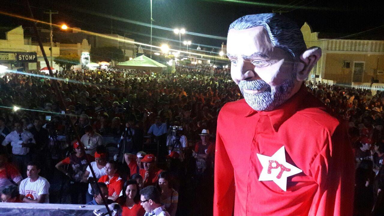 Resultado de imagem para Lula em currais Novos