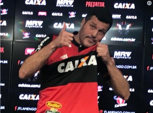 8695bda657 BLOG EUGÊNIO FREITAS  Flamengo anuncia retorno do goleiro Julio Cesar para encerrar  a carreira