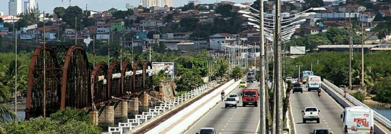 Pesquisa da UFRN aponta que 79% dos potiguares não se sentem seguros ao transitar na ponte de Igapó