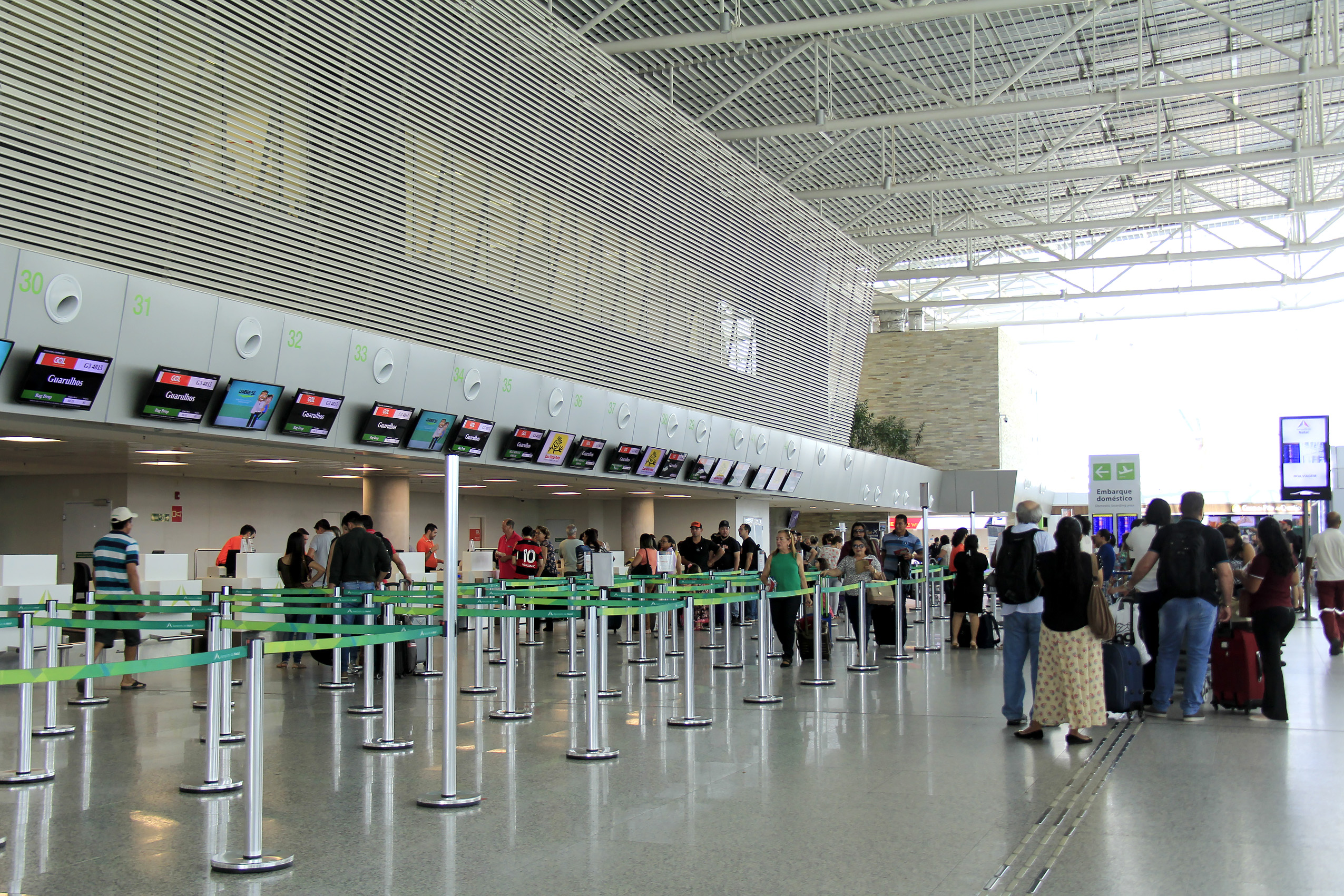 Mais de 31 mil passageiros devem usar o Aeroporto da Grande Natal durante a Páscoa