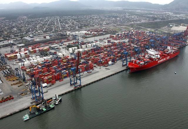 Crime usa até cabeça de suíno para enviar droga pelo porto de Santos