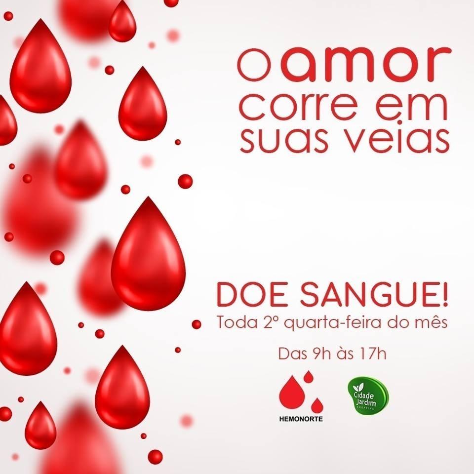 4dcf08b8fd4 Doação de sangue acontece no Shopping Cidade Jardim nesta quarta-feira