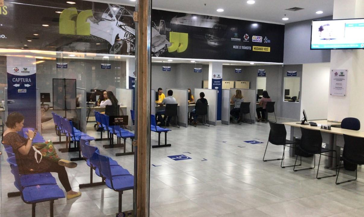 Resultado de imagem para Detran Natal Shopping já responde por 13% dos atendimentos realizados na capital