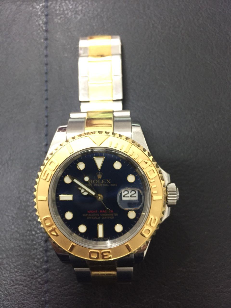 f38d5b521f0 FOTO  Polícia Civil em Natal recupera relógio de R  50 mil que foi ...