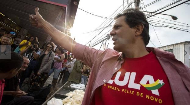 Com aval de Lula, Haddad é oficializado pelo PT candidato ao Planalto