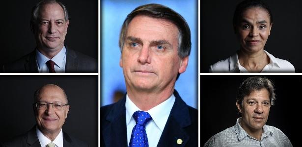 Pesquisa CNT/MDA: Bolsonaro lidera com 28,2%; Haddad tem 17,6% e Ciro 10,8%