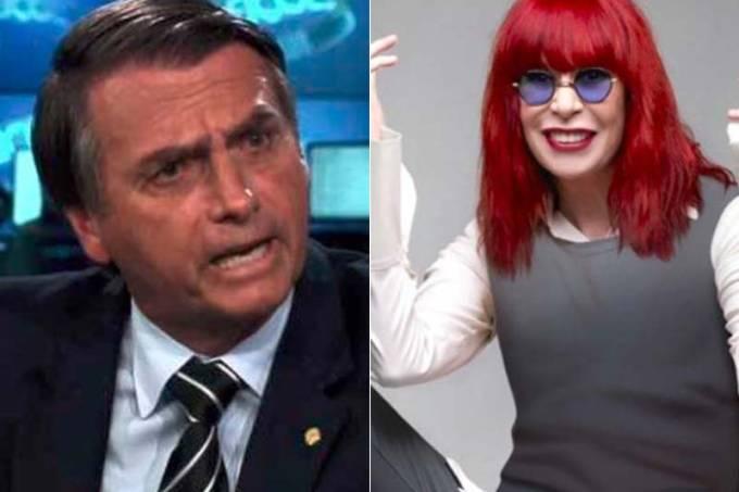 """Post polêmico de Rita Lee sobre Bolsonaro ressurge e vira assunto na internet; cantora fala de caso, e ainda insinua interesse do político em outro """"colega de classe"""""""