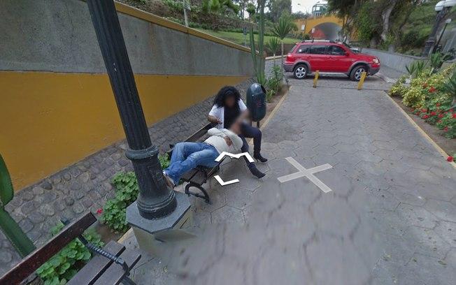 FOTOS: Mulher traindo o marido é descoberta por conta do Google Street View e caso viraliza em redes sociais