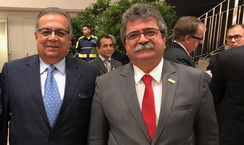 Amaro Sales e Flávio Azevedo empossados na CNI
