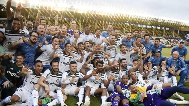 Palmeiras vence o Vasco em São Januário e conquista o 10º título brasileiro
