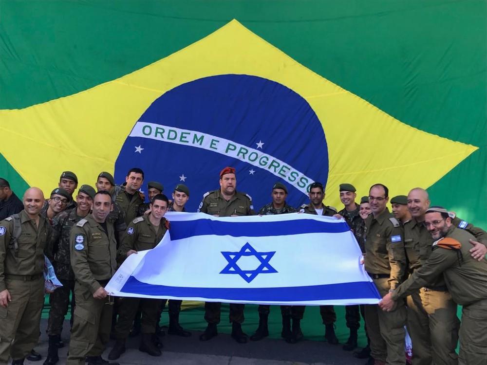 GRATIDÃO (FOTOS) – Fim dos trabalhos para os militares israelenses em Brumadinho: delegação deixa o Brasil nesta quinta-feira