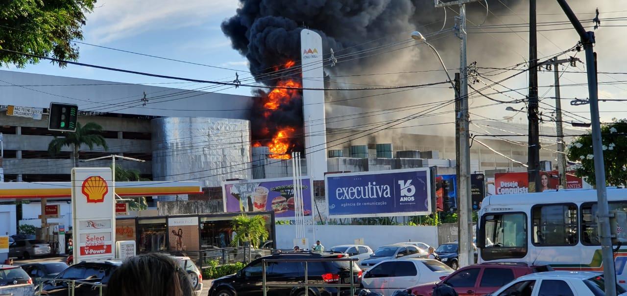Resultado de imagem para Midway emite nota sobre incêndio