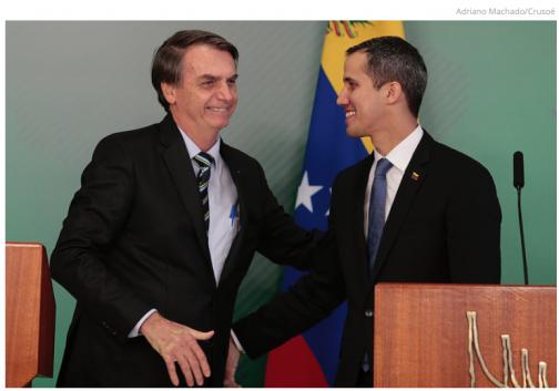Guiadó avisou Bolsonaro que tinha conseguido o apoio das principais unidades militares na Venezuela