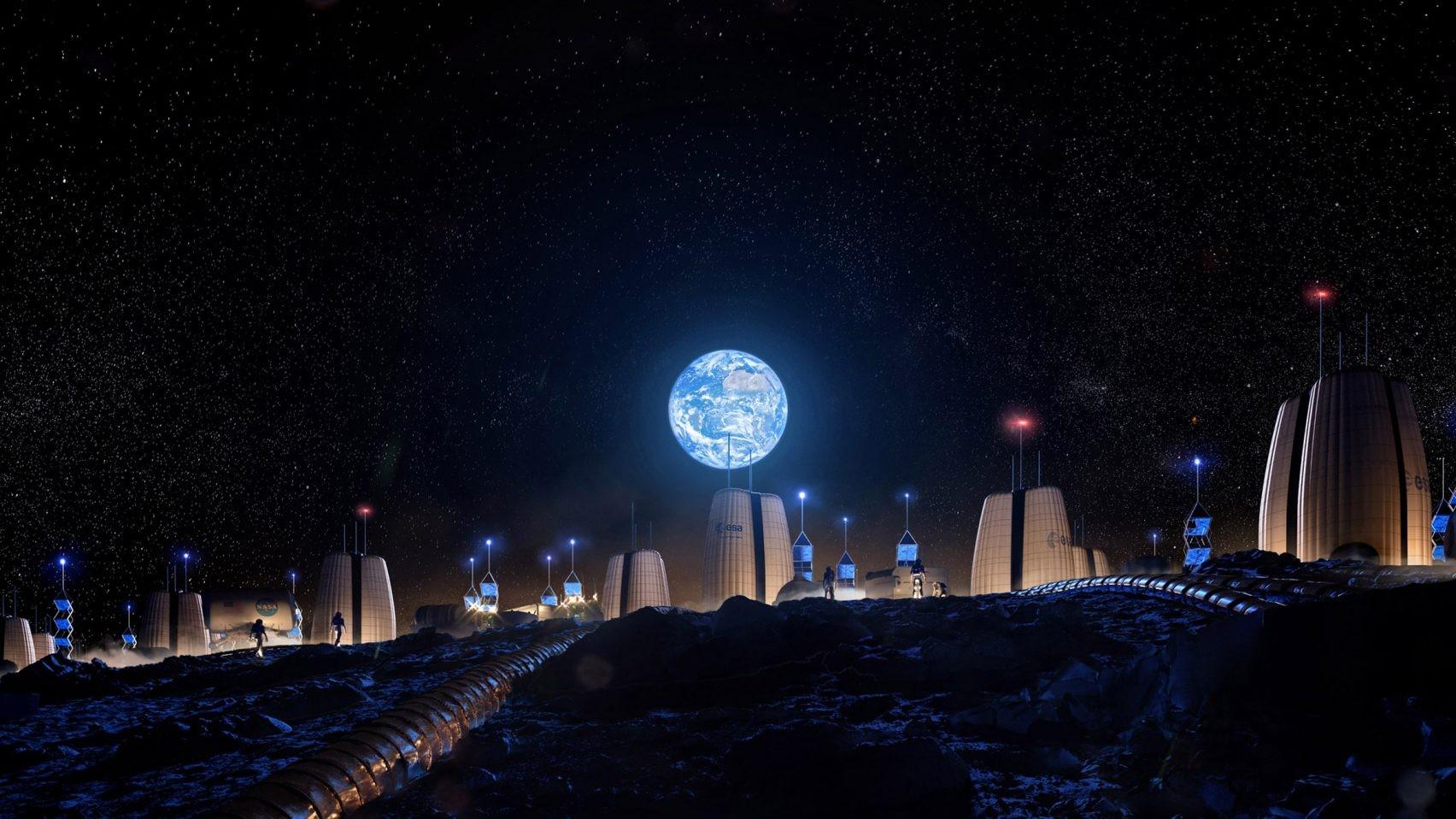 Morar na Lua? Projeto cria condições para que logo seja possível