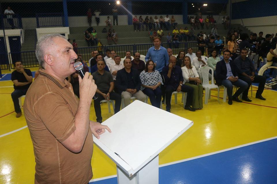 Câmara Municipal de Parnamirim prestigia reinauguração do centro esportivo de Pium; obra teve contribuição financeira do Legislativo