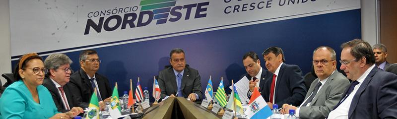 Governadores formalizam, em Salvador, o Consórcio Interestadual do Nordeste