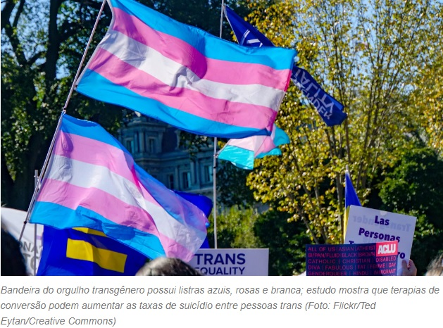 Terapias para pessoas trans não trocarem de gênero dobram risco de suicídio, aponta novo estudo