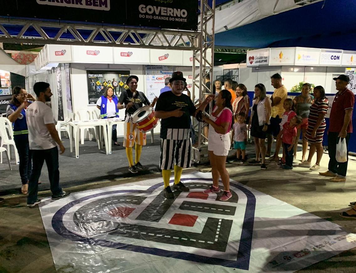 Resultado de imagem para Detran abre programação educativa voltada a Festa do Boi 2019