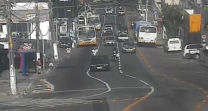 Uma das vias mais movimentadas de Natal, Mário Negócio ganha faixa semi-exclusiva de ônibus no trecho entre a (AV. 5) até a Av. Felizardo Moura a partir de segunda