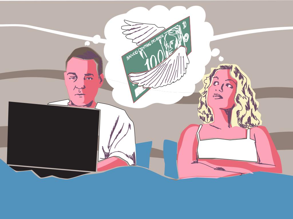 Como uma crise financeira abala o sexo no seu casamento