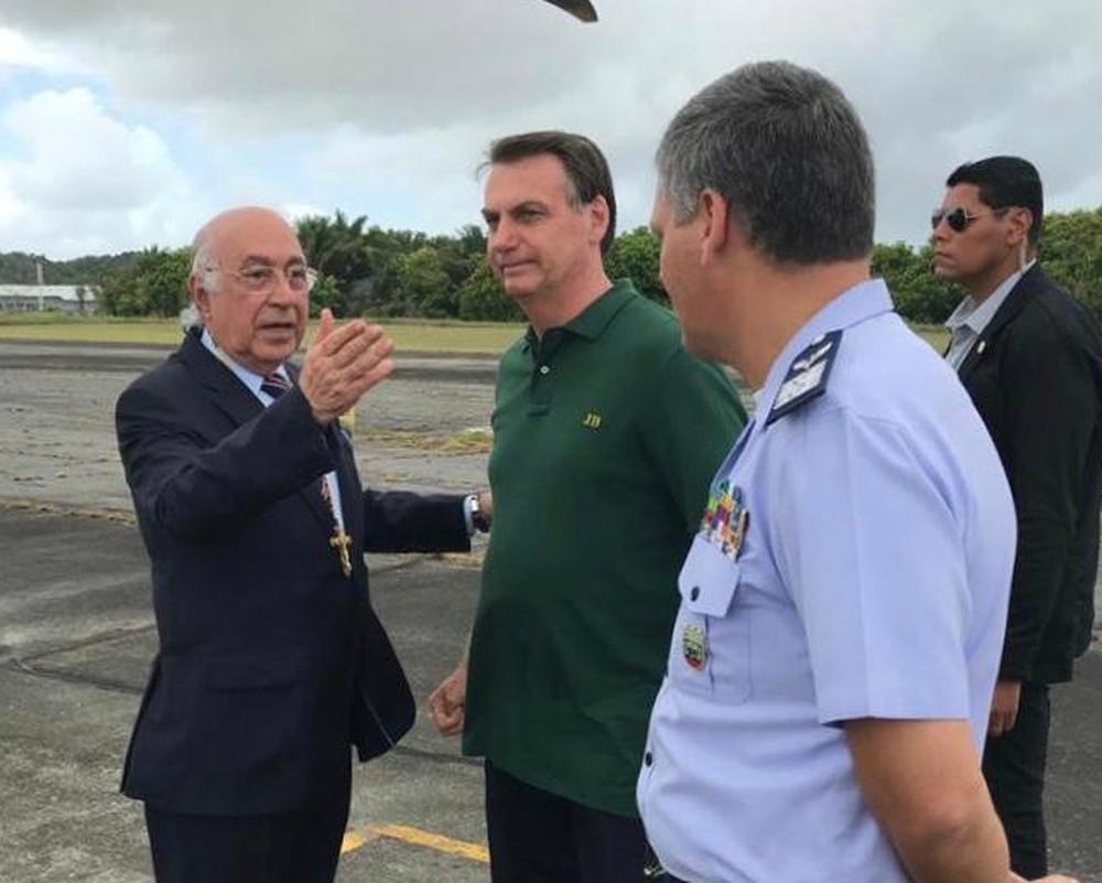 Bolsonaro deixa Salvador e retorna a Brasília para passar Ano Novo no Alvorada com a família