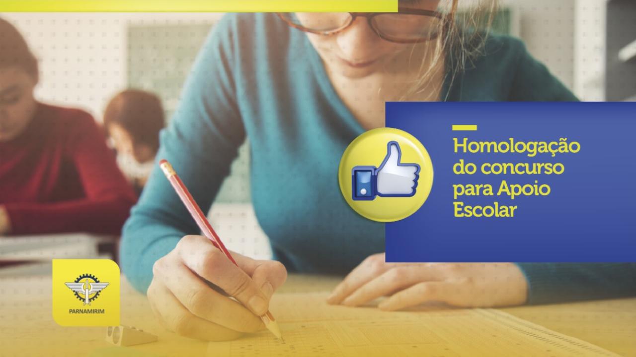 Prefeitura de Parnamirim homologa Concurso Público para Apoio Escolar