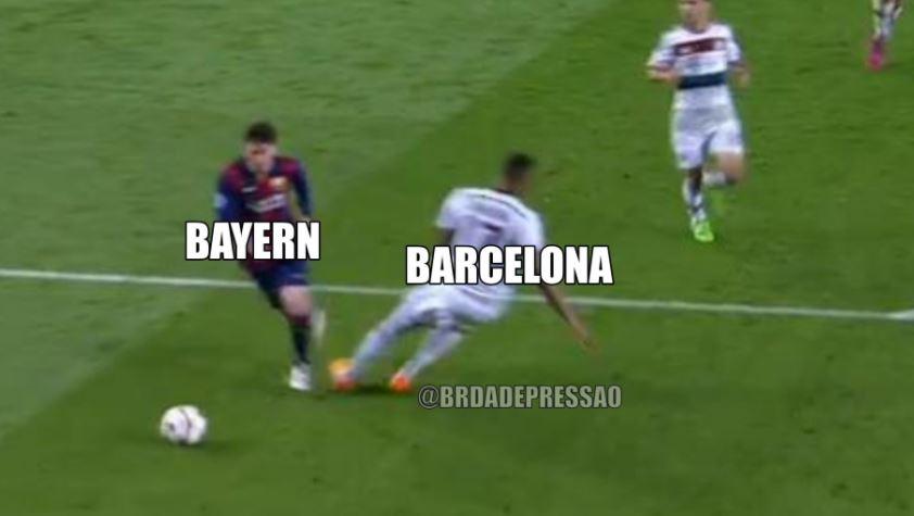 meme-1 Barcelona é humilhado pelo Bayern, dá adeus à Champions League e vira piada na internet; veja memes