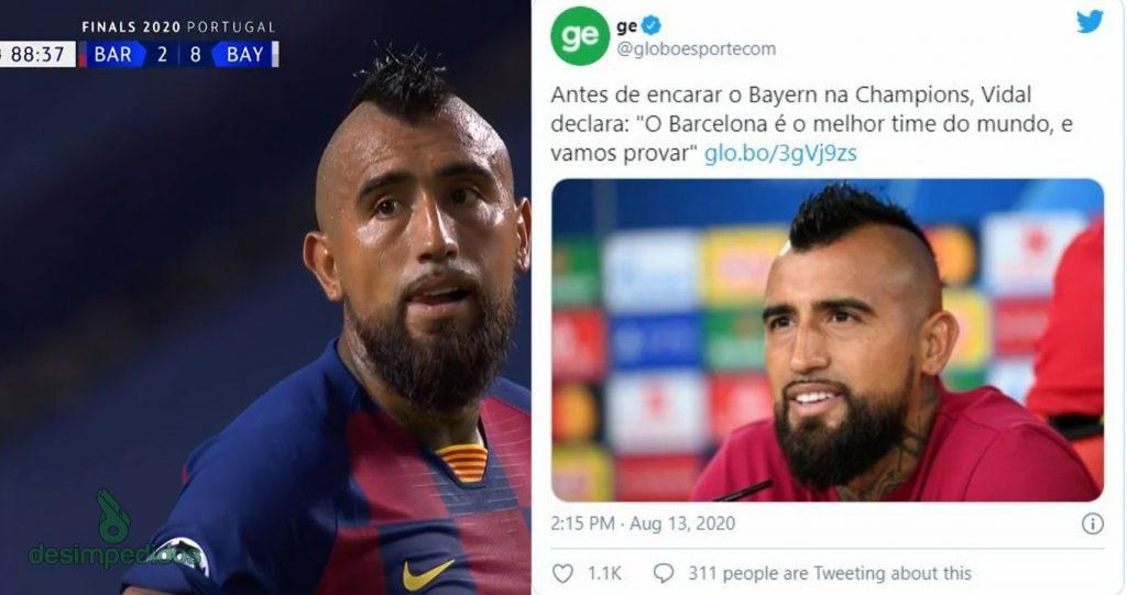meme-2-1024x541 Barcelona é humilhado pelo Bayern, dá adeus à Champions League e vira piada na internet; veja memes