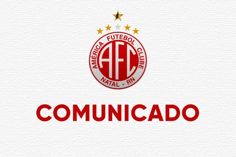 5242_COMUNICADO América comunica que quatro atletas que fazem parte do elenco profissional do clube testaram positivo para covid