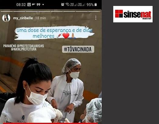"""sinsenat2 INJUSTIFICÁVEL: Início da vacinação contra a covid é suspensa para """"grupo de servidores""""; prioritários enfrentam filas e temem por falta de imunização"""