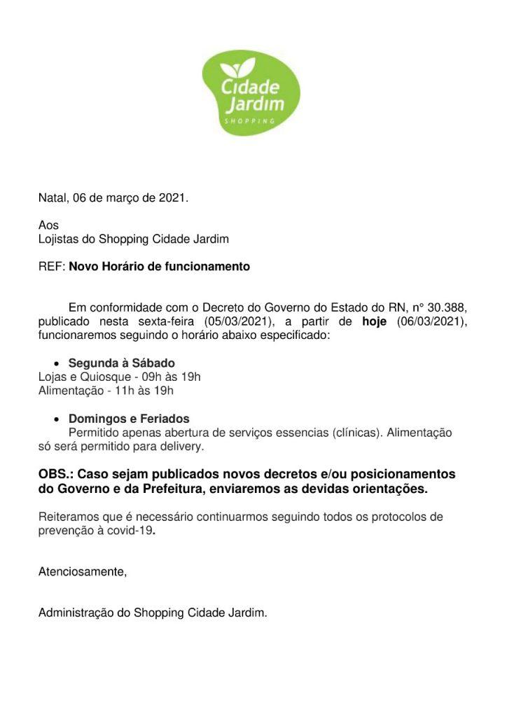 WhatsApp-Image-2021-03-06-at-16.19.20-724x1024 Natal Shopping, Praia Shopping e Cidade Jardim reduzem horários de funcionamento em razão do decreto do governo do estado