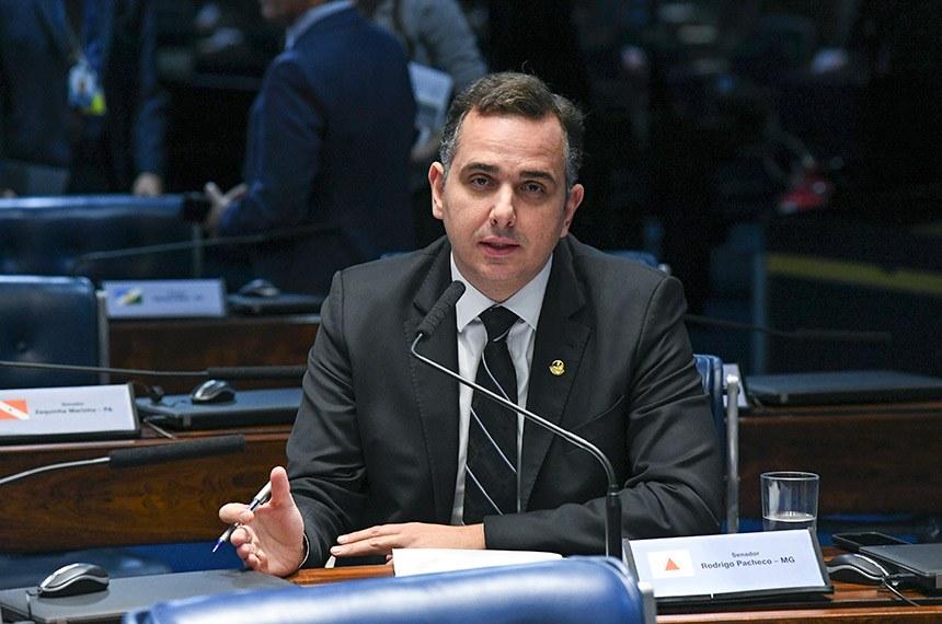peacheco Rodrigo Pacheco: 'Instalar a CPI da Saúde agora seria contraproducente'