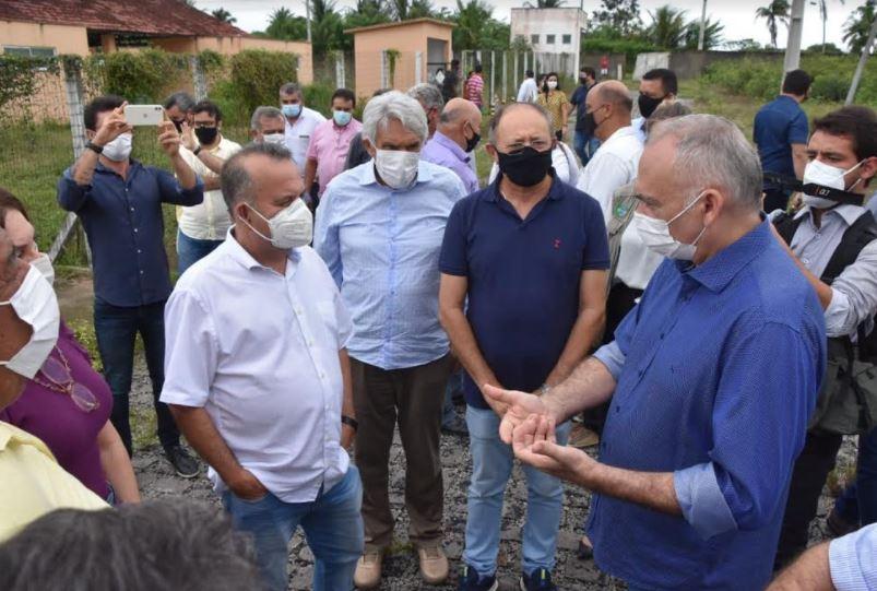 Em visita a São Gonçalo, ministro Rogério Marinho se compromete a buscar solução para obra parada do 'Minha Casa, Minha Vida' - Blog do BG