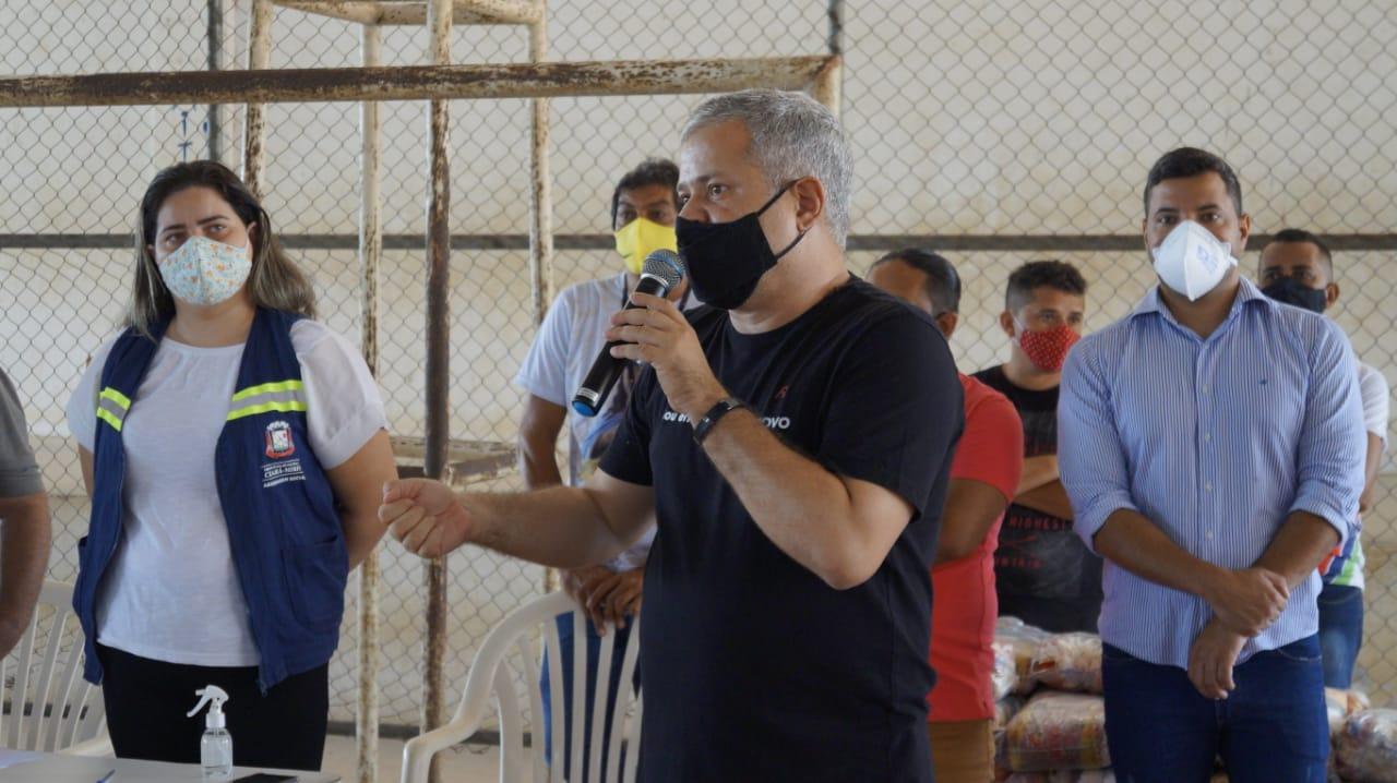 """Prefeito de Ceará-Mirim cobra celeridade na distribuição de vacinas: """" Governo do Estado tem que ser transparente"""" - Blog do BG"""