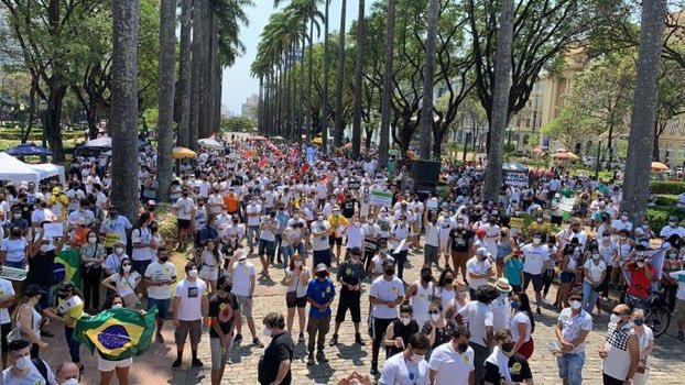 dia-2 Esquerda : Essa é a Pesquisa verdadeira,  No Rio de Janeiro, Belo Horizonte e Salvador iniciam manifestações contra Bolsonaro neste domingo