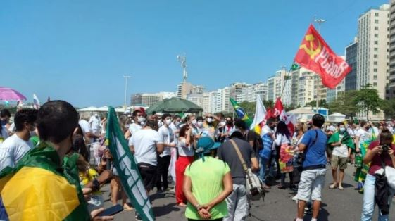rj Esquerda : Essa é a Pesquisa verdadeira,  No Rio de Janeiro, Belo Horizonte e Salvador iniciam manifestações contra Bolsonaro neste domingo