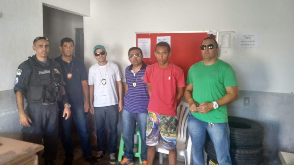 Adriano Alisson Castro Soares detido em Tibau do Norte