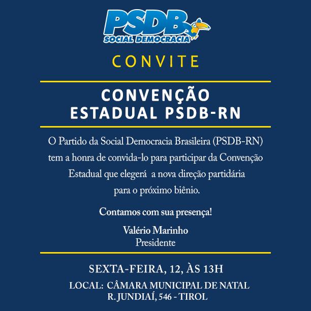 CONVENÇÃO ESTADUAL PSDB RN (1)