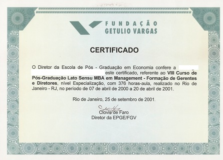 Diploma graduacao