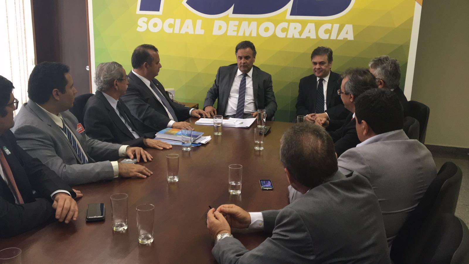 Comitiva do RN com comando nacional do PSDB (5)