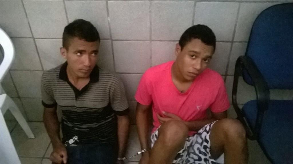 Detidos na zona Sul de Natal