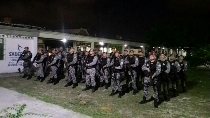Força Nacional realiza ações ostensivas em Natal e Mossoró 3