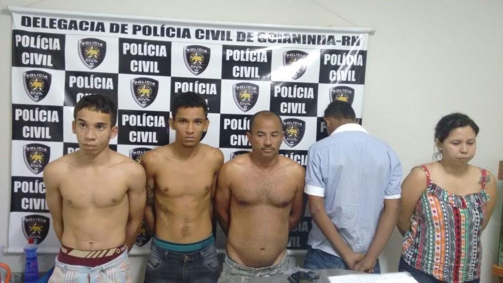 Grupo é acusado de tentar assalta uma loja em Goianinha (3)