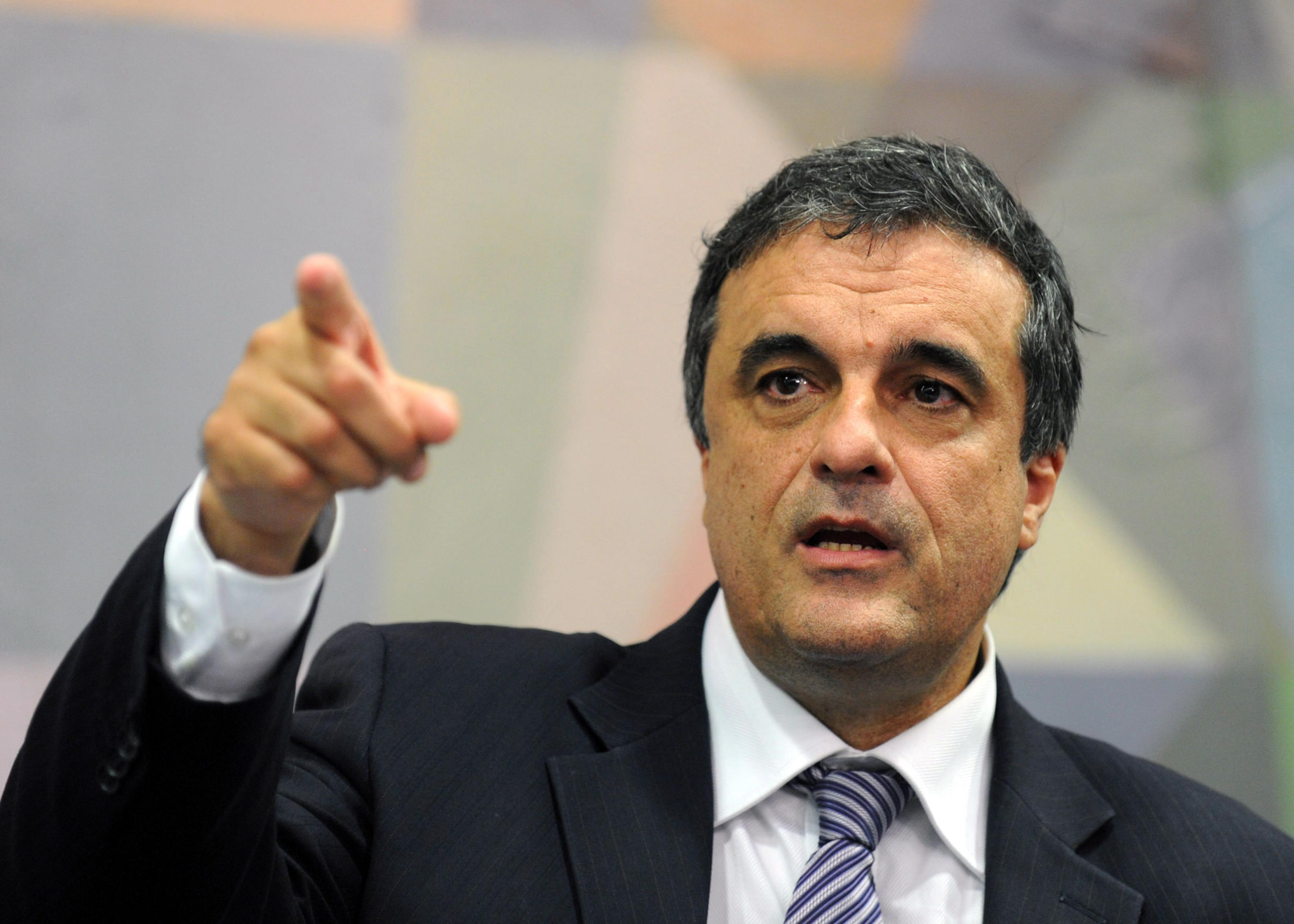 Brasília - O futuro ministro da Justiça, José Eduardo Cardozo, durante anuuncio do novo diretor Geral da PF, Leandro Daiello Coimbra