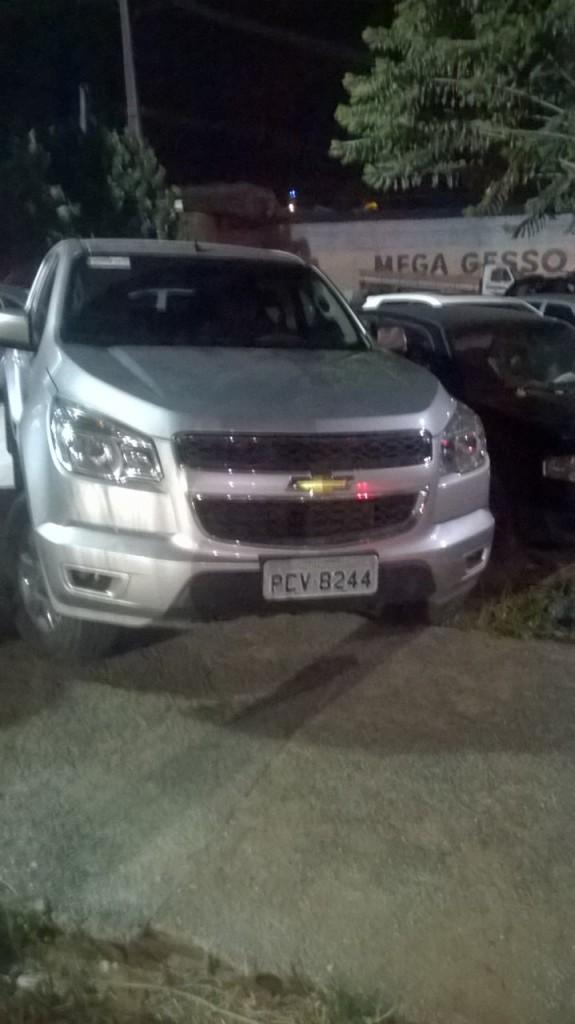 Polícia Militar prende homem e recupera carro roubado na zona Norte