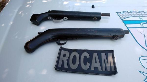 Ronda Ostensiva com Apoio de Motocicletas (ROCAM) prende três armas de fogo nas últimas 24 horas na cidade de Mossoró 4