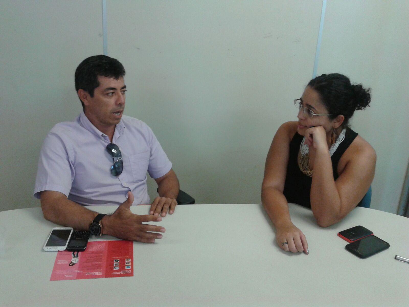Secretário de Saúde de Caraúbas e Eufrásia Ribeiro