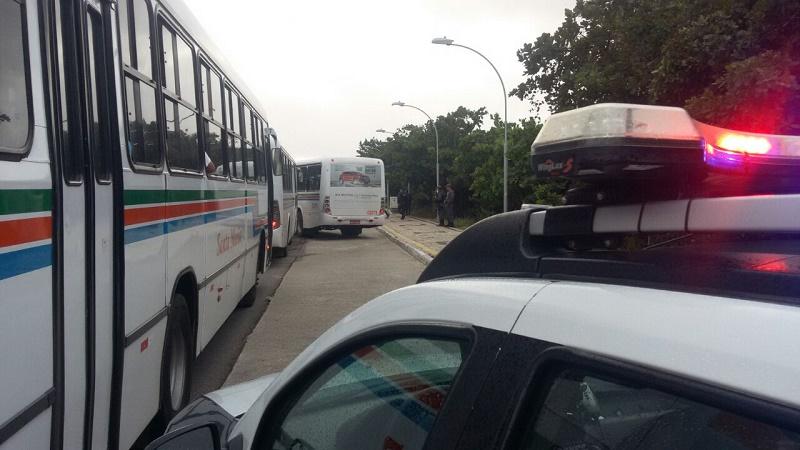 Segurança nos transportes públicos