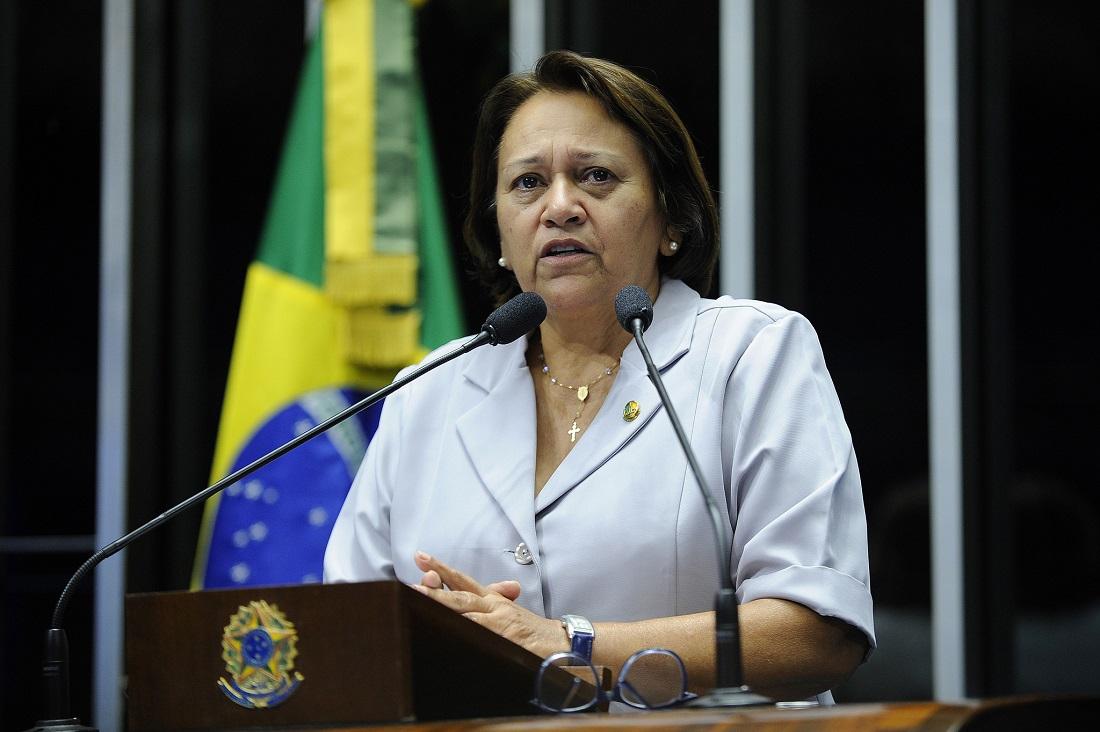 Resultado de imagem para senadora fátima bezerra pt